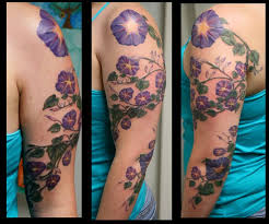 111 best tattoos images on pinterest morning glory tattoo