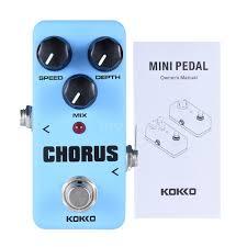 kokko fch2 mini chorus pedal portable guitar effect pedal h5g8