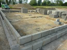 block house self build foundation gallery
