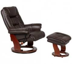 Chair With Matching Ottoman Leather Recliner Chair With Ottoman Foter