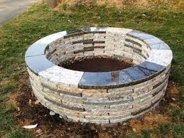 Firepit Stones Pit Stones Home Depot Fireplaces Firepits Building