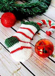Christmas Stocking Tree Decoration 41 Best Best Knitted U0026 Crochet Christmas Stockings Images On