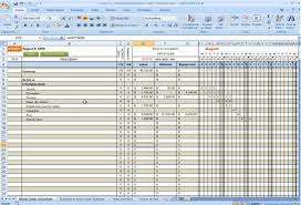 Construction Excel Templates Construction Cost To Complete Excel Construction Office