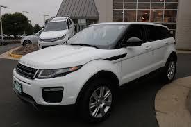 silver range rover evoque used 2017 land rover range rover evoque for sale chantilly va