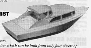 Free Balsa Wood Rc Boat Plans by Cabin Cruisers