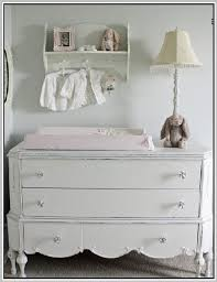 Changing Table Tops White Wooden Changing Table Topper On Top Dresser Within