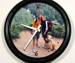 Personalized Picture Clocks 6 Modern Wall Clocks