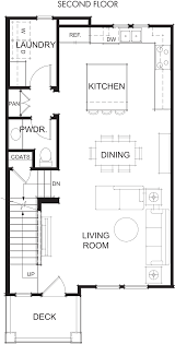 floor plan 2nd floor floor plans archive new townhomes for sale in mountain view ca