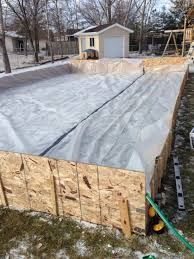 my 20x40 diy ice rink for less than 150 diy