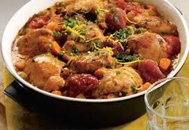 recette cuisine italienne casserole de poulet citronné à l italienne poulet