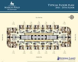 marco polo residences oceanview floor plans federal land