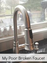 how to fix a leaky moen kitchen faucet kitchen faucet leaking below leaks faucets moen