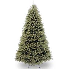 downswept douglas 7 green fir artificial tree and stand