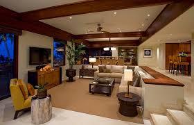 interior design hawaiian style sunken living rooms step down conversation pits ideas photos