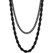 rope necklace black images Mister rope chain mister sfc jpg