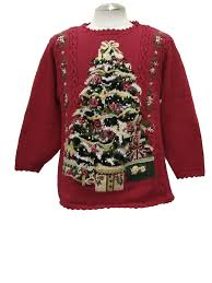 womens country kitsch style ugly christmas sweater annex womens