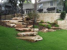boulder staircase