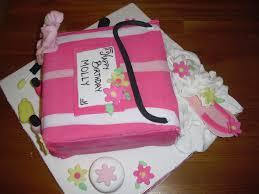 spa party cake white box cupcakes