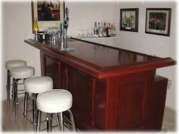 straight home bar plans