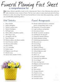 funeral planning checklist how to plan a funeral free funeral planning checklist