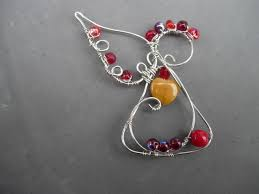 new wire angel design angel beads and craft
