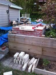 diy backyard oven outdoor furniture design and ideas