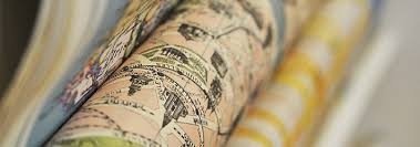map wrapping paper roll wrapping paper stanfords