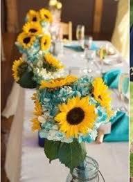 silk fall sunflower bridal bouquet package fall sunflower