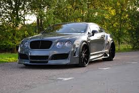widebody bentley one of two in the world bentley gt fitted with a premier4509 wide