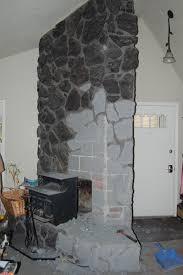 lava rock fireplace binhminh decoration