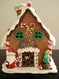 this polymer clay gingerbread house is adorable description from