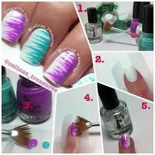 Diy Easy Halloween Drag Marble Nails Design Cute Dry Nail Art by Abstractnail Art Tutorial Needle Drag Put One Basic Coat Let Dry