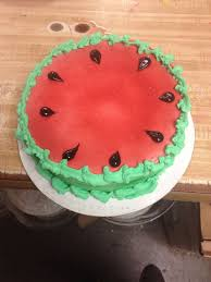 Watermelon Cake Decorating Ideas 19 Best Cake Decorating Images On Pinterest Dairy Queen Cake