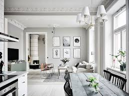 design attractor calm swedish home with gray and silver sage tones