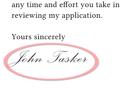 cover letter cover letter ending cover letter ending examples