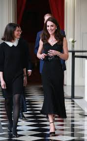 the duchess of cambridge wears british label goat to give a speech