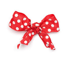 polka dot ribbon polka dot ribbon tie stock image image of out objetcs 29594897