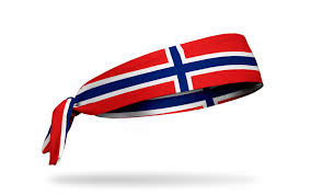 Flag Of Norway Country Flag Headbands U2013 Junk Brands