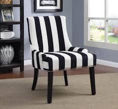 Blue And White Striped Slipcovers Chairs Navy Blue Wingback Chair Armed Accent Chairs Slipper