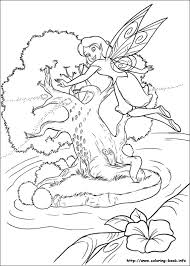 tinkerbell coloring picture disney tinkerbell coloring pages