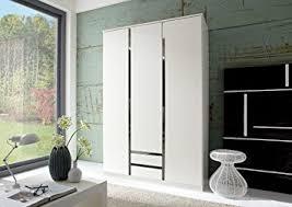 German Modern Furniture by German Modern Line White U0026 Chrome 3 Door Bedroom Furniture