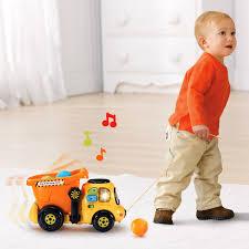 amazon com vtech drop and go dump truck online exclusive toys