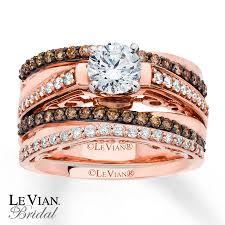 chocolate wedding rings levian chocolate diamonds 1 1 3 ct tw bridal set 14k gold