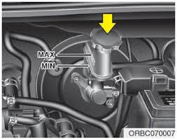 hyundai accent clutch hyundai accent checking the brake clutch fluid level brake