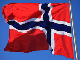 Norweigan Flag Heja Norge A Norwegian Flag In Sweden On The 17 5 Norway U2026 Flickr