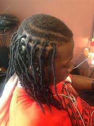 installing extension dreads in short hair full head goddess loc extension services and prices
