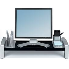Adjustable Height Workstation Desk by Fellowes 8037401 Flat Panel Adjustable Height Workstation Up To 21