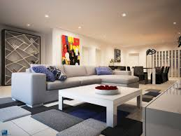 modern apartment art modern ls and colorful art make this luxurious home