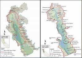 california map hd are central valley steelhead really threatened california