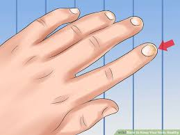 how to keep your nails healthy with pictures wikihow
